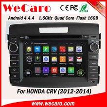 "Wecaro car multimedia system 7"" 1024*600 for honda crv gps system car stereo 16GB Flash 2012 2013 2014"