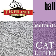 ball shape bentonite litter production