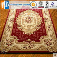 Euro-style 3d picture hand carving carpet rug