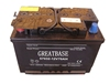bulk car battery manufacturers dry cell charged lead acid auto battery 12V70ah DIN70 Without Acid