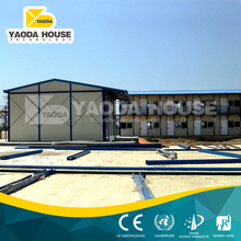 2 storey house prefabricated house in saudi arabia