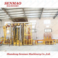 Mini Capacity Plain Particle Board Production Line/Particle Board Manufacturing Equipment