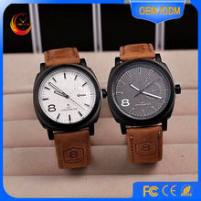 alibaba express CURREN Men's Sport Watches Men Military Leather Brand Watch