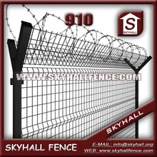 High Security Easy Installation steel yard fence panel