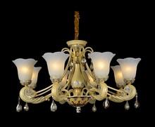 0504-P-6850-8 hanging glass balls chrystal famous brand chandelier