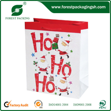China Alibaba Express luxury calendar paper shopping printing bag,calendar printing bag