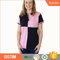 Wholesale cotton uniform polo t shirts with logo