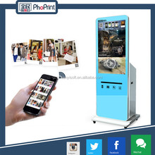Wide variety smart software/3d photo effect/curtain closed photo booth