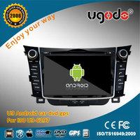 Fashion Design Multi Touch Capacitive Screen Dashboard Hyundai I30 Car Radio Tuner Rear Camera Support