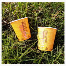 6oz disposable water paper cup/coffee paper cup/hot drink cup