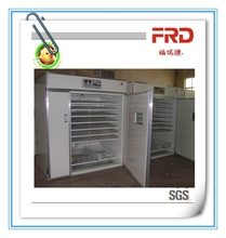Advanced electronic FRD-2464 industrial setter and hatcher combined together egg incubator machine with large egg-tray