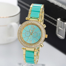 2015 China aliababa factory best sellers geneva brand women latest wrist watch