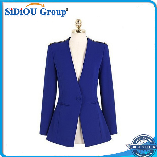 latest v neck design of ladies suits 2014
