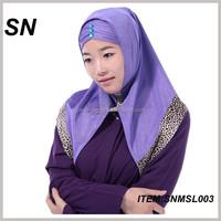 wholesale new design arabian islamic scarf hijab scarf