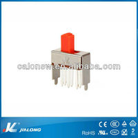 low voltage dimmer slide switch DPDT