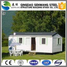 Expandable flat pack container house