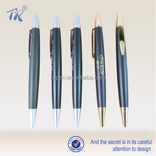 Silver Golden Parts Promotional Ballpoint Pen