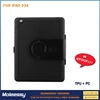 Delicate ultra slim stand leather case for ipad 4 3 2