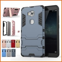 Factory rugged rubber tpu pc phone case cover for huawei Honor 5X