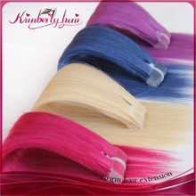 Nice looking good quality extensions cheveux naturel adhesives tape hair extensions