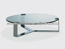 Triángulo de la base de la mesa redonda superior- mesa de café mo- 15#