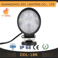 auto parts car,SUV,ATV,truck led Work lamp spot/flood 18w led work light