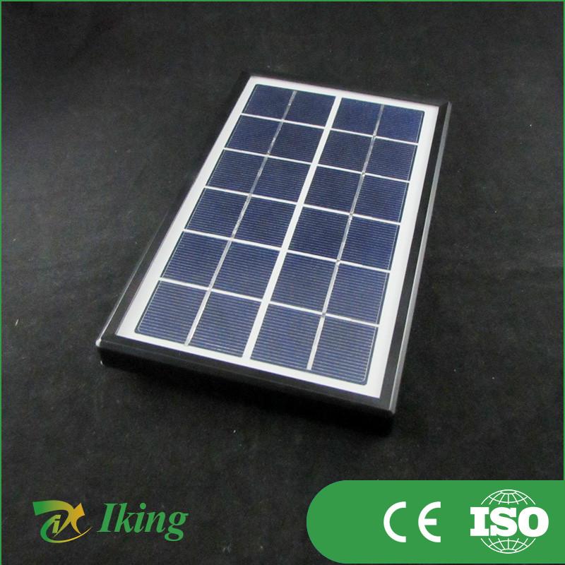 Pedido al por mayor peque o panel solar 5 w 12 v con marco for Panel solar pequeno