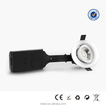 LED Downlight 4.5w IP 44 Patent Lens White or Silver