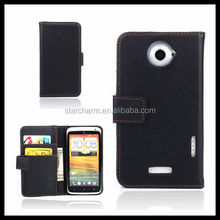 New Arrival PU Leather Phone Cases Cheap Cell Phone Accessories for HTC One X