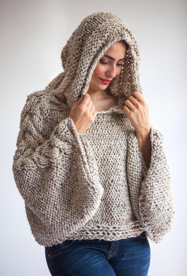 Knitting Patterns Plus Size : Knit sweater patterns plus size grey