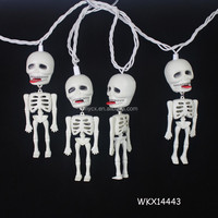Hanging string lighting wholesale halloween skull