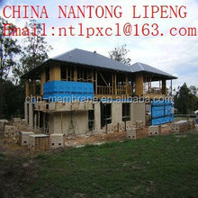 pp+pe+pp waterproof material used mainly for house wrap and roof