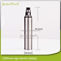 Big battery ecig ego 2200mah huge vapor e cigarette, hot selling 2200mah ego battery