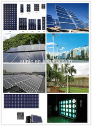 WUHAN SUNIC 100MW solar panel production line price solar panel 300w automatic turnkey module 1kw solar panel(Argus)