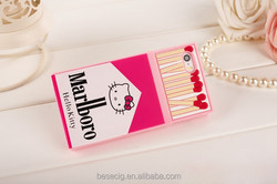 3D Hello Kitty Cigarette Pack Silicone Mobile Phone Case for 5/5s, 6/ 6 Plus