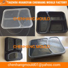 Plastic thin wall food container injection mold