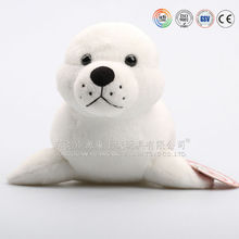 custom plush seal toy for kids