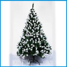 Wholsale Snowing Christmas Tree 150CM Flocking Decoration Christmas Tree Artificial Christmas Tree Decoration