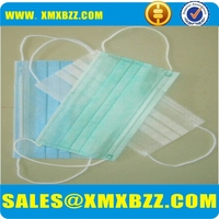 High Quality Comfortable industrial Nonwoven Disposable Face Mask