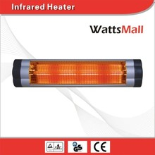 Patio Wall Mounted Electric Infrared Heater for Instant Warming