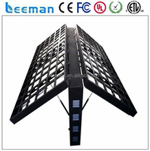 p10 outdoor advertising full color double sided led tv screen Full color led dispay ,double sided led tv screen board sign video