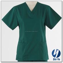 nuevo diseño de moda unisex hospital uniforme