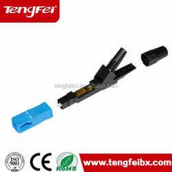 FTTH drop cable SC Optic Fiber Fast Connector