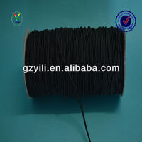 High quality briaded round elastic band