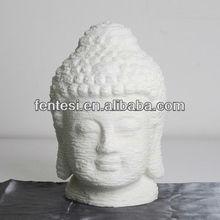 2013 newest hand carved polystone buddha head