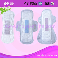 Extra Care Anion Sanitary towel with Negative ion in china
