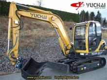 Yc55-8 escavatore cingolato escavatore idraulico ampliare