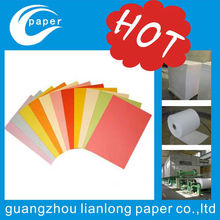 Supply all kinds of a4 size color paper