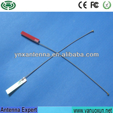 ISO9001:2008 4.5dBi Antenna PCB Internal Antenna Mini 2.4ghz 5ghz Internal Antenna With IPEX Connector 15cm Cable