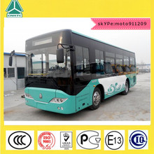 Howo sinotruck luxury city bus 11m diesel engine better than Daewoo 40seats capacity